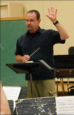 Robert conducting 1