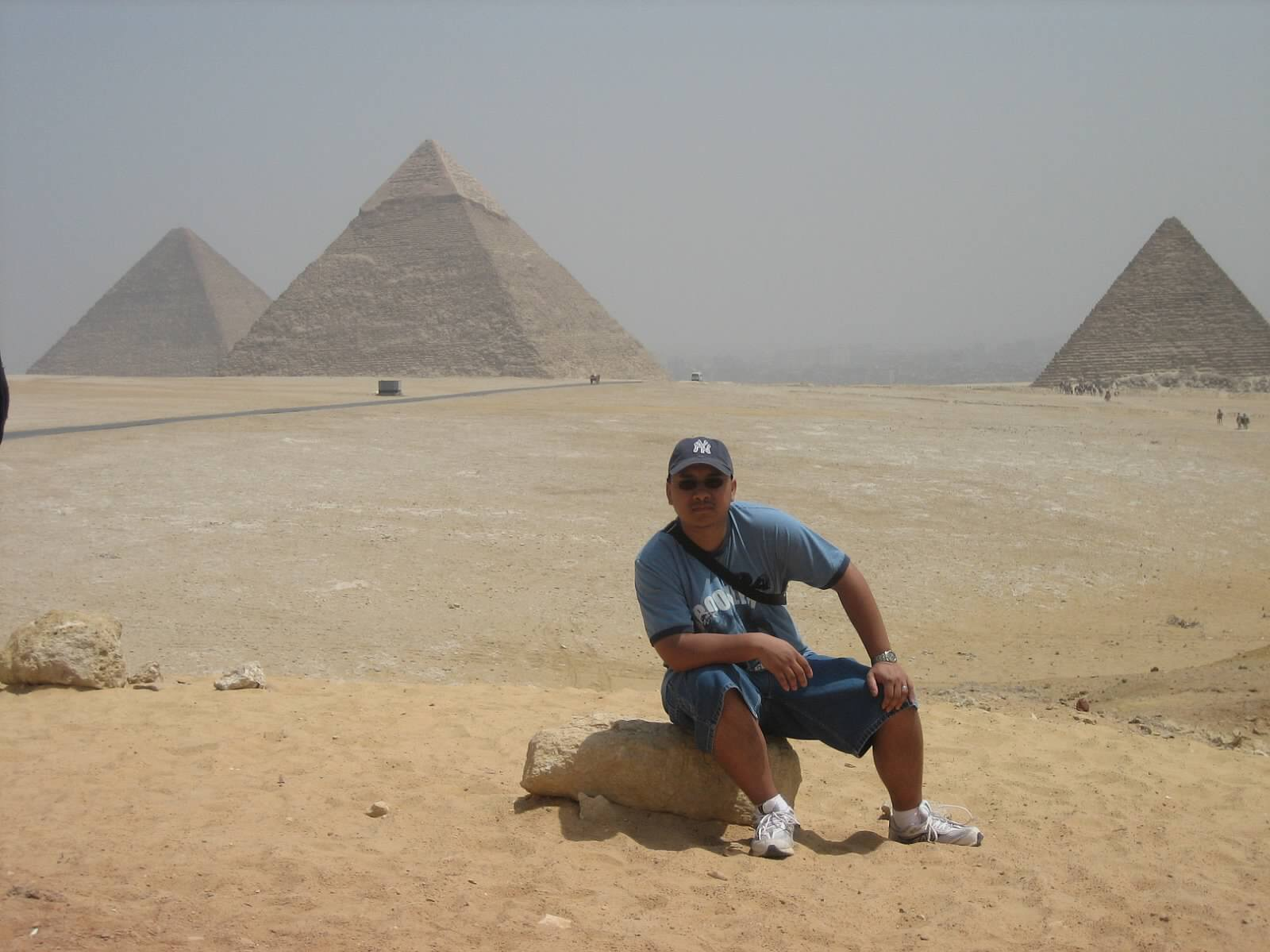 Moises Young in Egypt